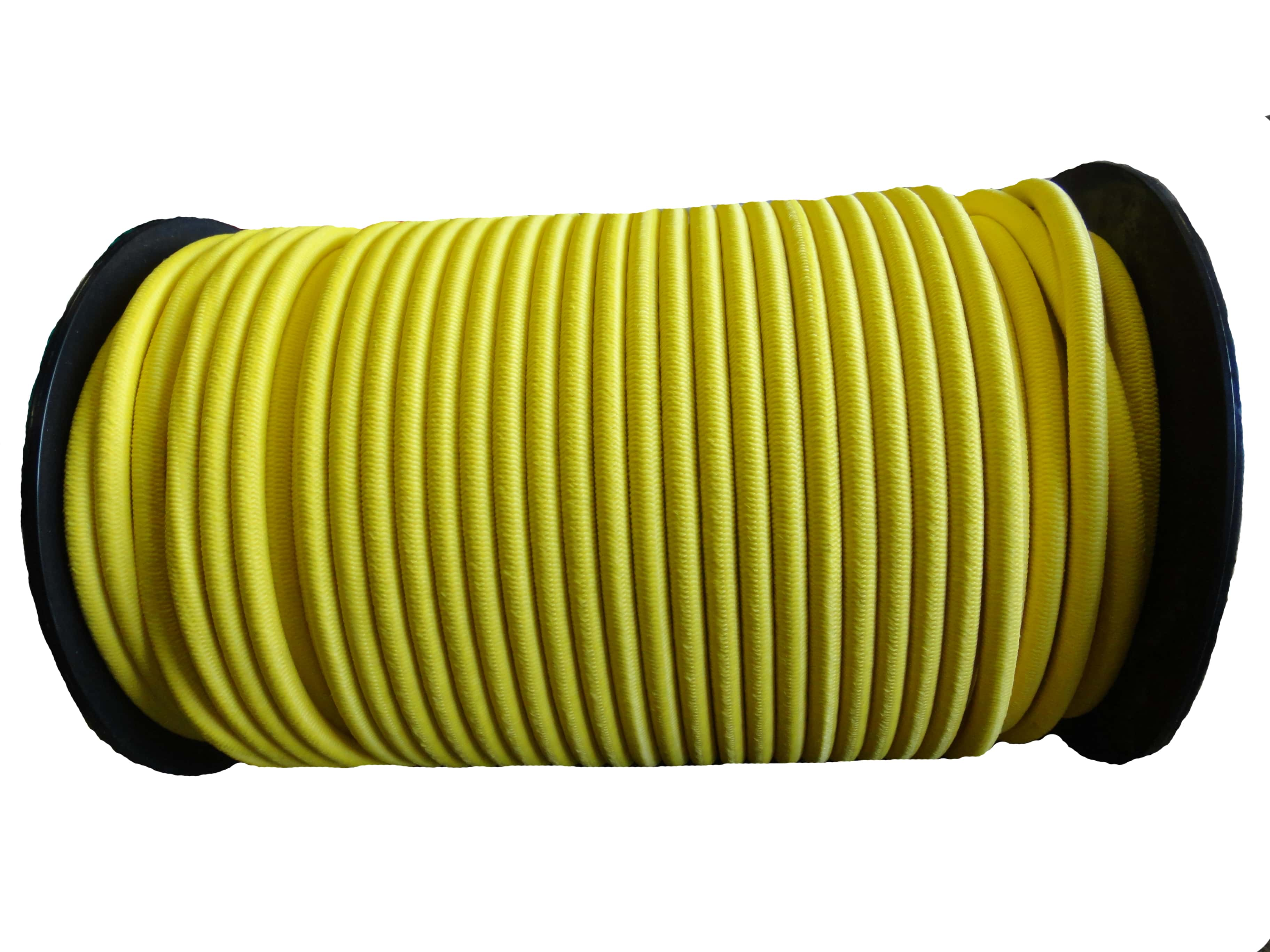 8mm Yellow Bungee Shock Cord String